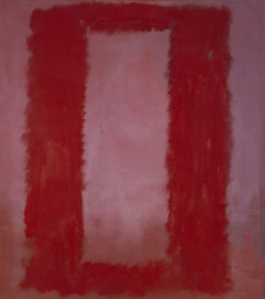 Mark Rothko. Red on Maroon. 1959