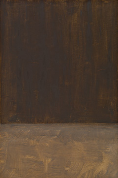 Mark Rothko. Untitled (Brown and Gray). 1969