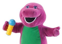 Динозавр Барни (Barney the Purple Dinosaur)