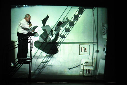 William Kentridge, I Am Not Me, the Horse is Not Mine, a Performa Premiere, 2009