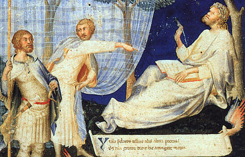 Martini Simone. Petrarch's Virgil. c. 1336