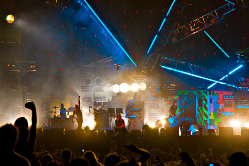 Выступление The Prodigy на Warriors Dance Festival 2010