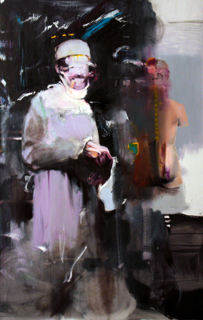 Adrian Ghenie. Doctor Josef (Study for Kaiser Wilhelm Institute). 2011
