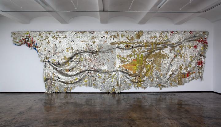 El Anatsui. Depletion. 2009