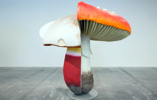 Carsten Höller. Giant Triple Mushrooms. 2010