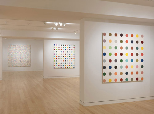 Damien Hirst. Spot Painting. 1986